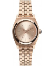 Nixon A399-897 Ladies Small Time Teller All Rose Gold Watch