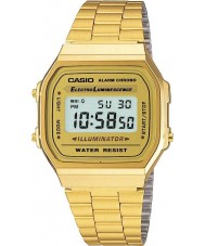 Casio A168WG-9EF Collection Classic Gold Plated Digital Watch
