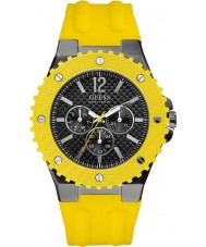 Guess Mens OVERDRIVE Yellow Watch