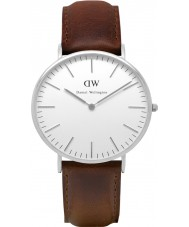 Daniel Wellington DW00100023 Mens Classic 40mm Bristol Silver Watch