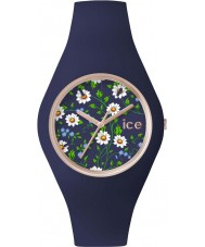 Ice-Watch ICE.FL.DAI.S.S.15 Ladies Ice-Flower Blue Silicone Strap Small Watch