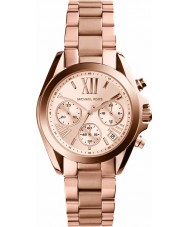 Michael Kors MK5799 Ladies Mini Bradshaw Rose Gold Chronograph Watch