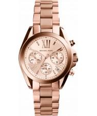 Michael Kors MK5799 Ladies Mini Bradshaw Rose Gold Chronograph Watch