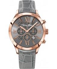 Thomas Sabo WA0227-274-210-43mm Mens Urban Grey Leather Chronograph Watch