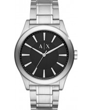 Armani Exchange AX2320 Mens Dress Silver Steel Bracelet Watch