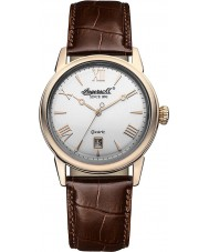 Ingersoll INQ001WHRS Mens Grafton White Brown Watch