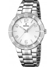 Festina F16711-1 Ladies Silver Steel Bracelet Watch