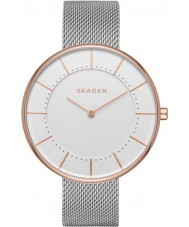 Skagen SKW2583 Ladies Gitte Silver Steel Mesh Bracelet Watch