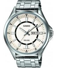 Casio MTP-E108D-7AVEF Mens Collection Silver Steel Bracelet Watch