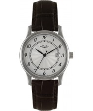 Rotary GS00792-22 Mens Timepieces Silver Brown Watch