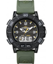 Timex T49967 Mens Expedition Shock Combo Green Watch