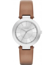 DKNY NY2293 Ladies Stanhope 2.0 Matte Tan Leather Strap Watch