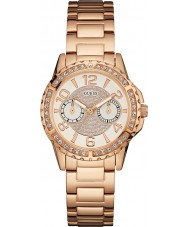 Guess W0705L3 Ladies Sassy Rose Gold Plated Bracelet Watch