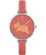 Radley RY2361 Ladies Go Walkies Papaya Leather Strap Watch