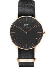 Daniel Wellington DW00100150 Classic Black Cornwall 36mm Watch