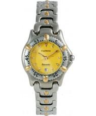 Krug Baümen 19166KL Ladies Oceanmaster Two Tone Yellow Dial