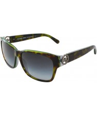 Michael Kors MK6003 58 Salzburg Tortoise Green Grey 300211 Sunglasses