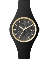 Ice-Watch ICE.GT.BBK.S.S.15 Ladies Ice-Glitter Black Silicone Strap Small Watch
