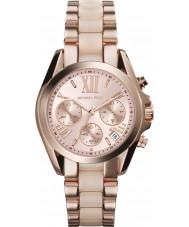 Michael Kors MK6066 Ladies Mini Bradshaw Rose Gold Chronograph Watch