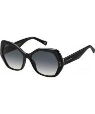 Marc Jacobs Ladies MARC 117-S 807 9O Black Sunglasses