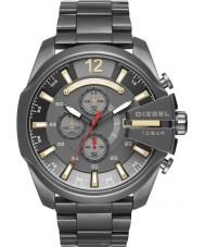 Diesel DZ4421 Mens Mega Chief Gunmetal Steel Chronograph Watch