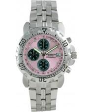 Krug Baümen 241269DM-PK Mens Sportsmaster Diamond Pink Dial
