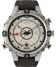 Timex Intelligent Quartz T2N721 Mens Natural Brown Tide Temp Compass Watch