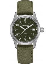 Hamilton H69419363 Mens Khaki Field Watch