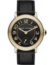 Marc Jacobs MJ1471 Ladies Riley Black Leather Strap Watch