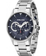 Police 14383JS-03M Mens Driver Blue Silver Watch
