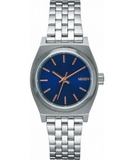 Nixon A399-2195 Ladies Small Time Teller Silver Steel Bracelet Watch