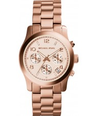 Michael Kors MK5128 Ladies Runaway Rose Gold Chronograph Watch