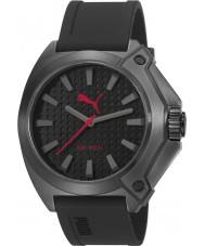 Puma PU103811001 Zone Black Silicone Strap Watch