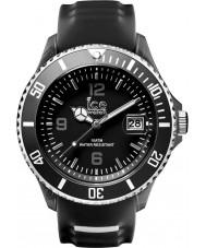 Ice-Watch SR.3H.BKW.U.S.15 Ice-Sporty Black Silicone Strap Watch