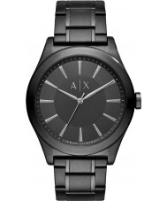 Armani Exchange AX2322 Mens Dress Black Steel Bracelet Watch