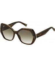 Marc Jacobs Ladies MARC 117-S ZY1 CC Havana Sunglasses