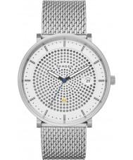 Skagen SKW6278 Mens Hald Silver Steel Mesh Bracelet Watch