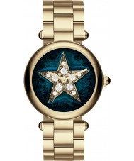 Marc Jacobs MJ3478 Ladies Dotty Gold Steel Bracelet Watch