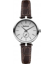 Barbour BB011SLBR Ladies Lisle Brown Leather Strap Watch