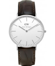 Daniel Wellington DW00100025 Mens Classic 40mm York Silver Watch