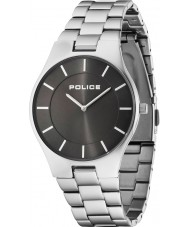 Police 14640MS-61M Mens Splendor Silver Steel Bracelet Watch