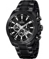 Festina F16889-1 Mens Prestige Black Steel Chronograph Watch