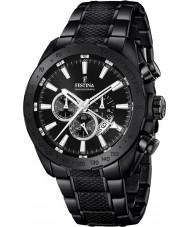 Festina F16889-1 Mens Prestige Black Steel Chronograph Watch