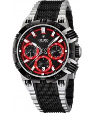 Festina F16775-8 Mens 2014 Chrono Bike Tour De France Red Black Watch