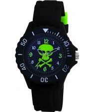 Tikkers TK0031 Kids Black Rubber Watch