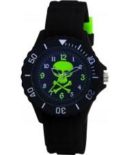 Tikkers TK0031 Kids Black Rubber Watch