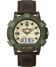 Timex T49969 Mens Expedition Shock Combo Brown Watch