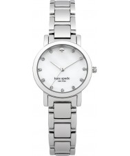 Kate Spade New York 1YRU0146 Ladies Gramercy Mini Silver Steel Bracelet Watch