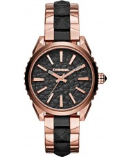 Diesel DZ5473 Ladies Nuki Rose Gold Black Watch