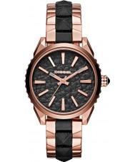 Diesel DZ5473 Ladies Nuki Rose Gold Black Watch